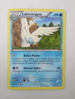 Carte Pokemon FR - Lakmécygne 90PV - 37/114 - Série Noir & Blanc
