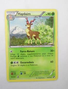 Carte Pokemon FR - Haydaim 90PV - 14/114 - Série Noir & Blanc