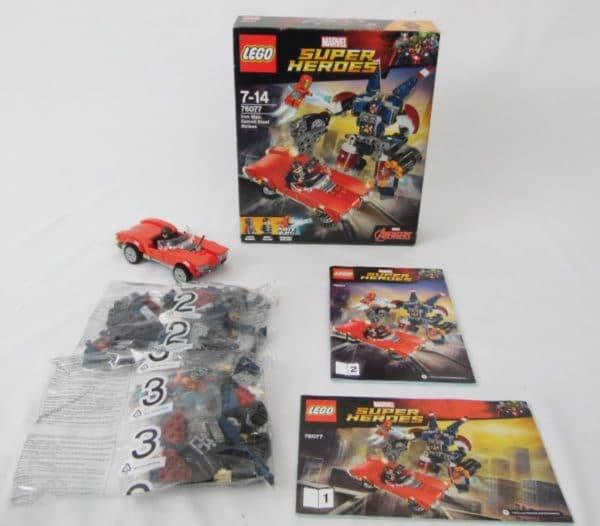 LEGO Super Heroes - N° 76077 - Iron Man: Detroit Steel Strikes