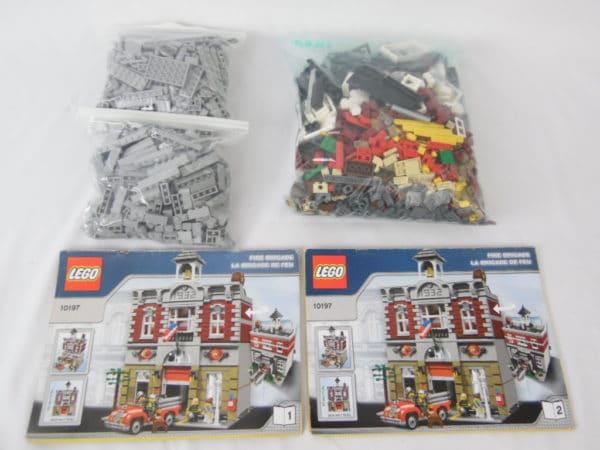 LEGO Creator - N°10197 - Caserne des pompiers