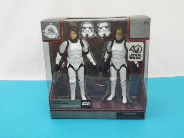 Figurine Star Wars - Elites series - Han Solo et Luke Skywalker en Stormtrooper
