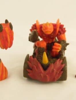 Figurines Gormiti - Lot de 3