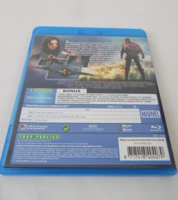 Blu-Ray - Captain America - Le soldat de l'hiver