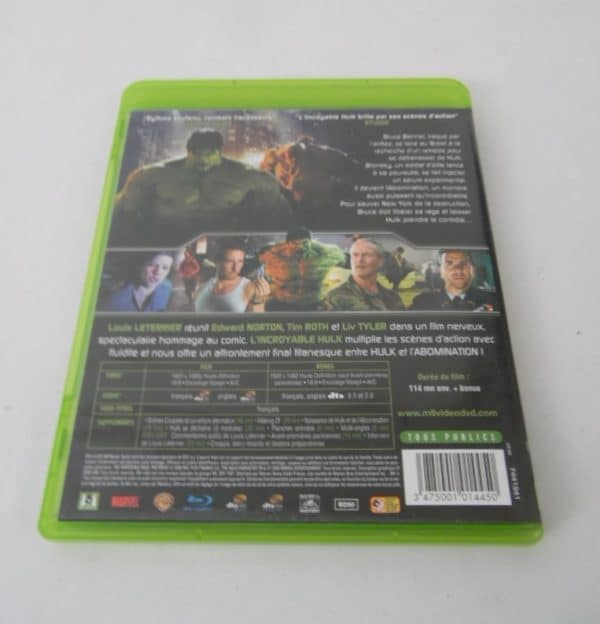 Blu-Ray - L'incroyable Hulk