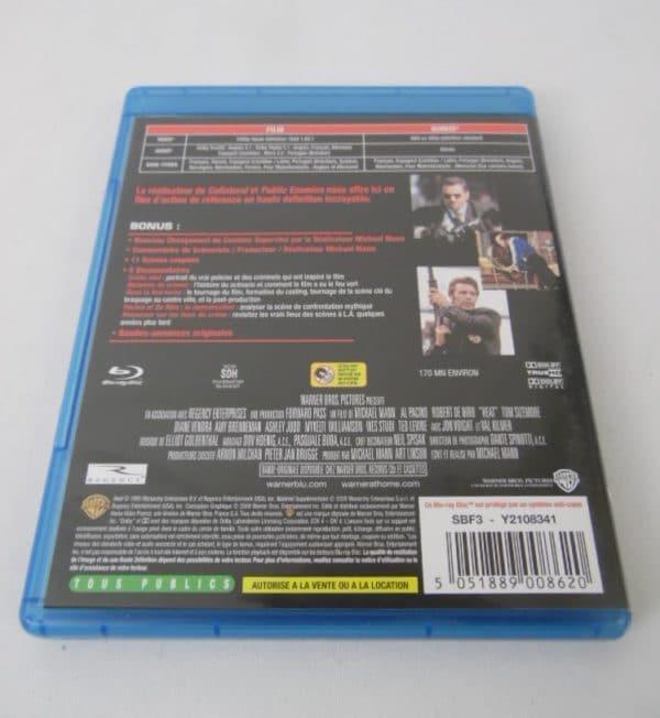 Blu-Ray - Heat - Al Pacino et Robert De Niro