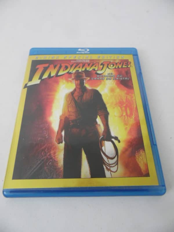 Blu-Ray - Indiana Jones et le royaume du crâne de cristal