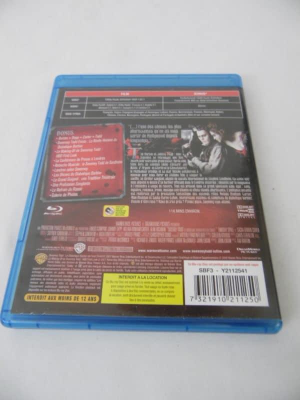 DVD Blu-Ray - Sweeney Todd - le diabolique barbier de Fleet Street