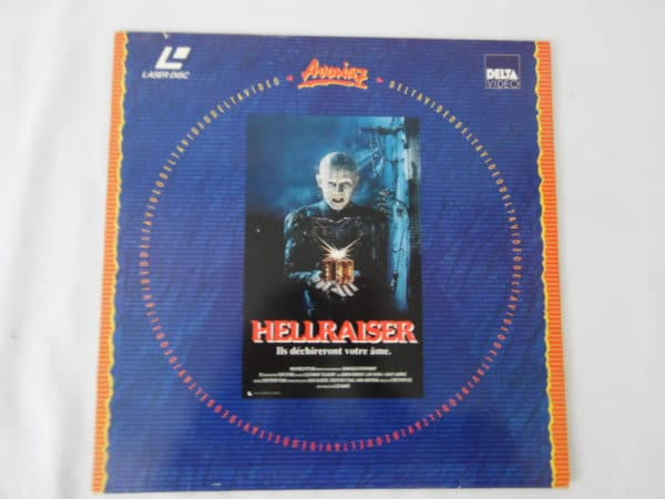 Laserdisc - Hellraser