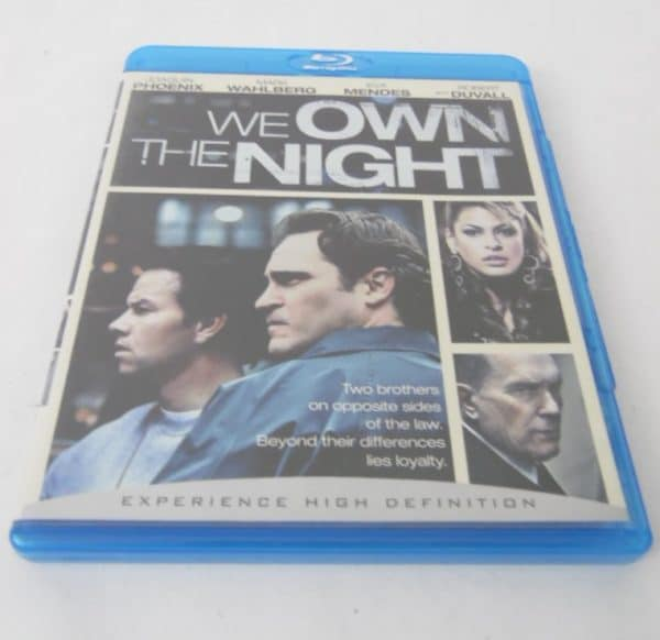 Blu-Ray - We Own The Night chez iqoqo-collection