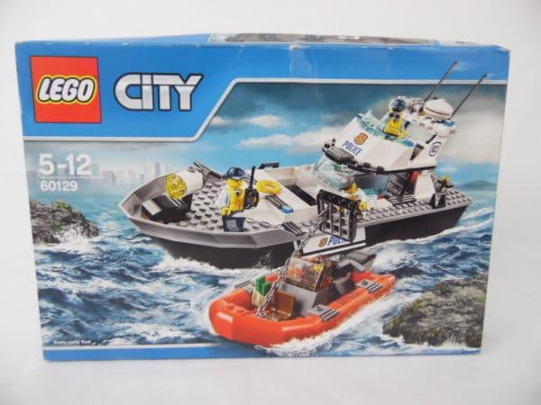 LEGO City - N° 60129 - Bateau de patrouille de la police