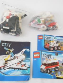 Lot LEGO City Space - N° 3365/3366 et 3367