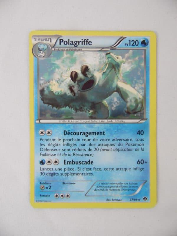 Carte Pokemon FR - Polagriffe 120PV - 37/99