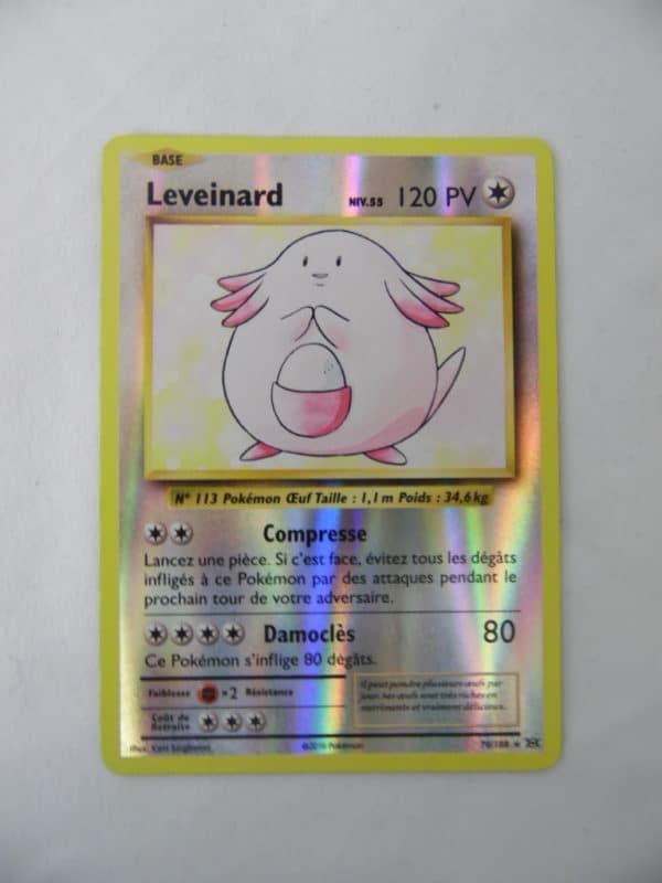 Carte Pokemon FR - Leveinard 120PV - 70/108 - Holo XY12