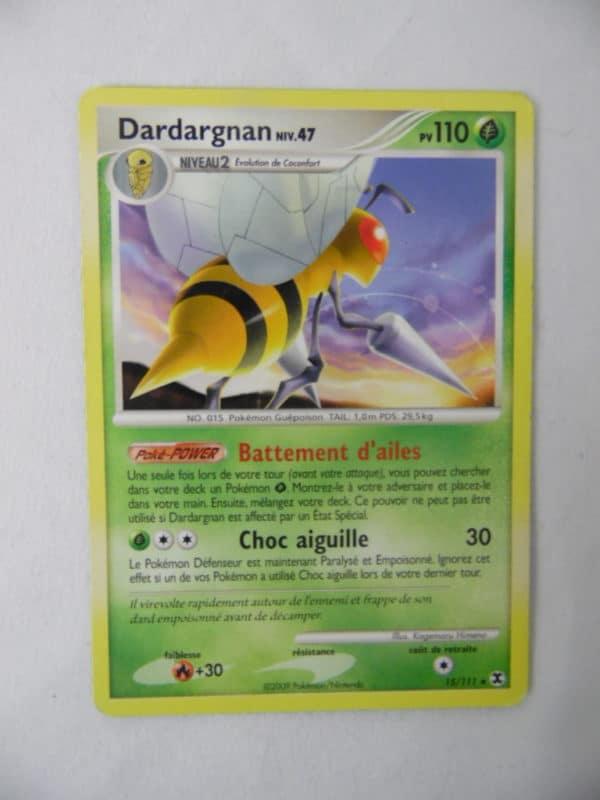 Carte Pokemon FR - Dardargnan 110PV - 15/111 - Platine Rivaux Émergeants