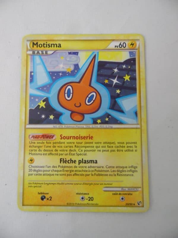 Carte Pokemon FR - Mostima 60PV - 20/90 - Indomptable