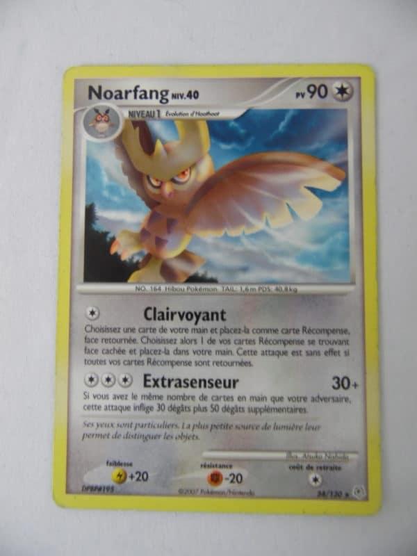 Carte Pokemon FR - Noarfang 90PV - 34/130 - Diamant & Perle