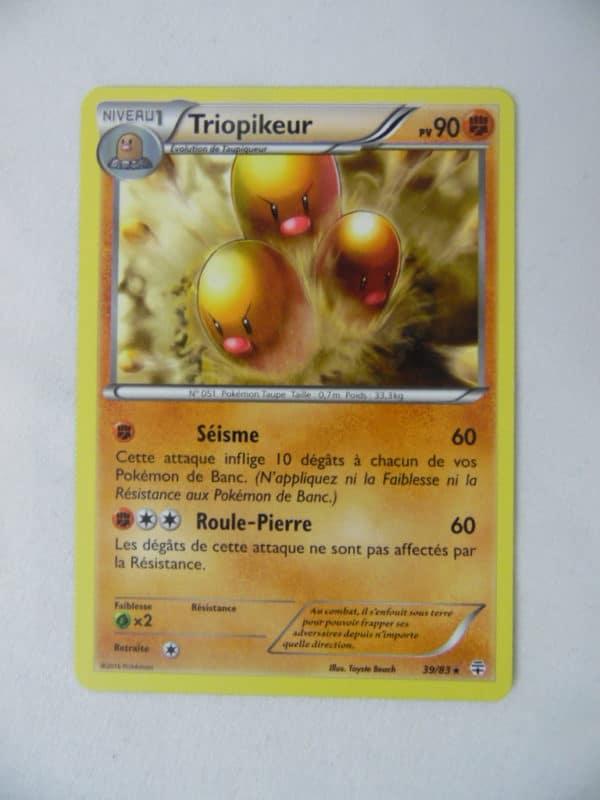 Carte Pokemon FR - Triopikeur 90PV - 39/83 - Générations