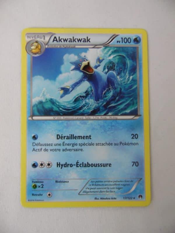 Carte Pokemon FR - Akwakwak 90PV - 17/122 - Rupture Turbo