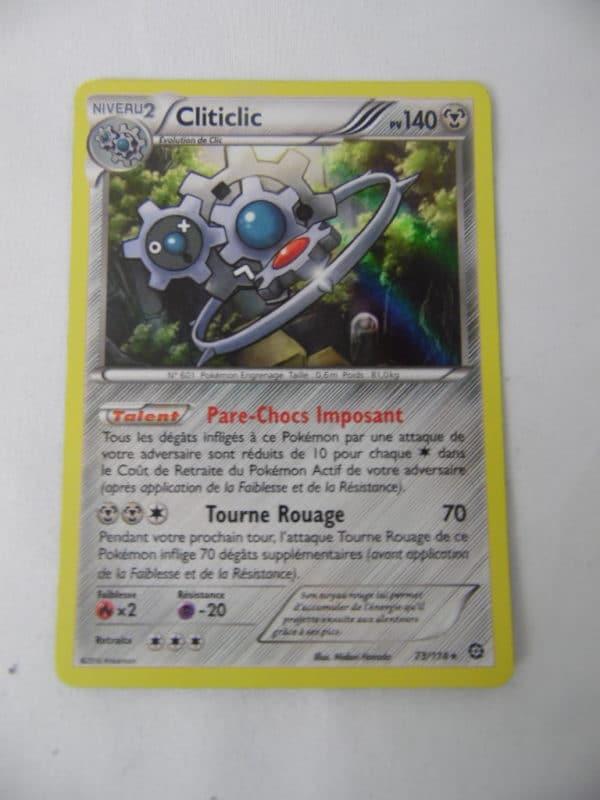 Carte Pokemon FR - Cliticlic 140PV - 73/114 - XY Offensive Vapeur
