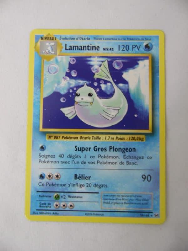 Carte Pokemon FR - Lamantine - 120PV - 29/108 - Evolutions