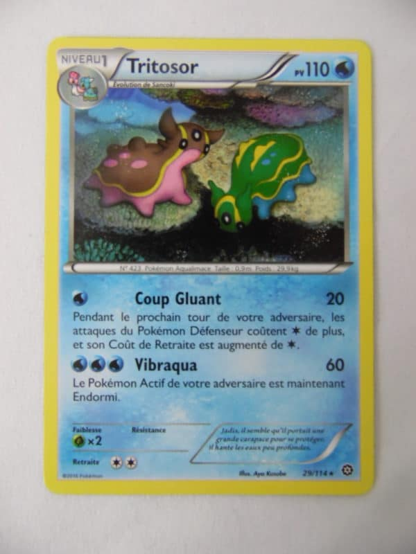 Carte Pokemon FR - Tritosor - 110PV - 29/114 - Offensive Vapeur