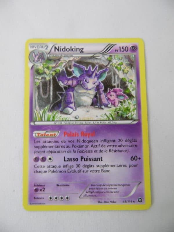 Carte Pokemon FR - Nidoking - 150 PV - 45/114 - Offensive vapeur
