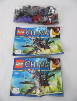 LEGO Chima - N° 70000 - Planeur de Razcal