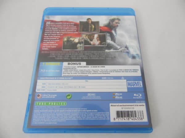 Blu-Ray - Thor - Le monde des ténèbres