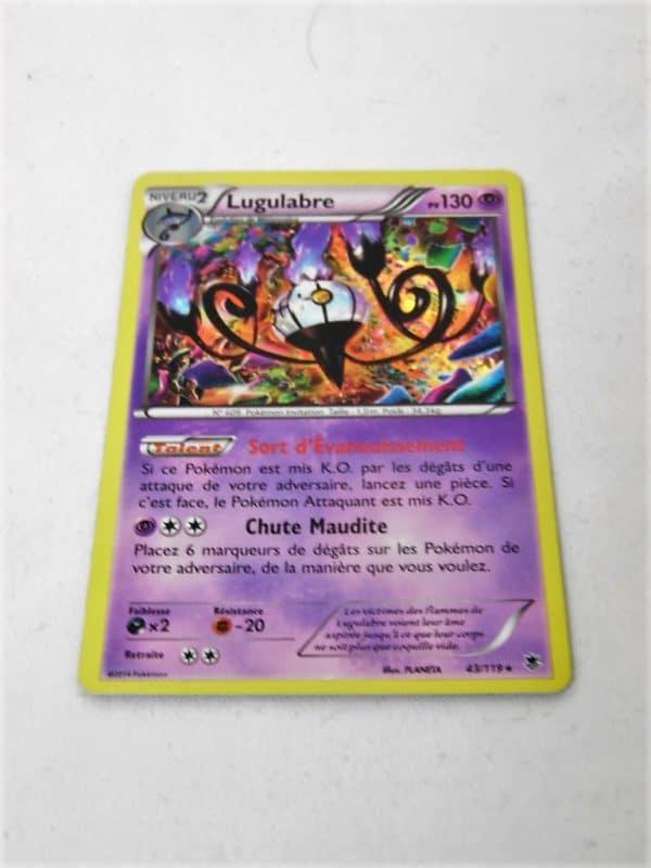 Carte Pokemon FR - Lugulabre Holo 130PV - 43/119 - XY Vigueur Spectrale