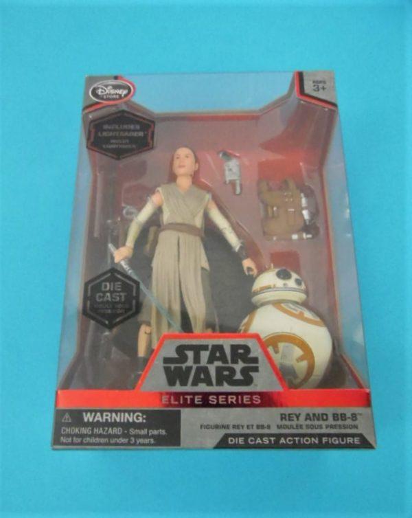 Figurine Star Wars - Elites series - Rey et BB8