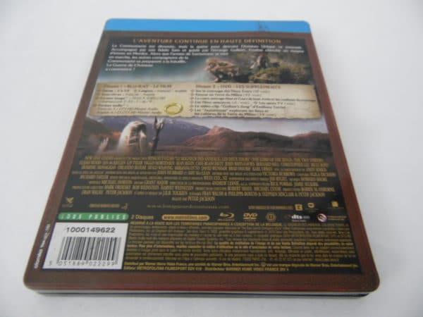 Blu-Ray - Le seigneur des anneaux - Les deux tours - édition steel-book