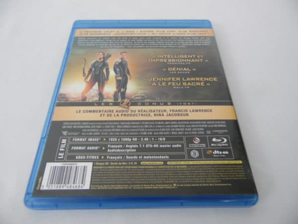 Blu-Ray - Hunger Games 2 - L'embrasement