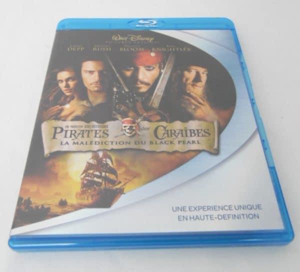 Blu-Ray - Pirates des Caraïbes : La malédiction du Black Pearl