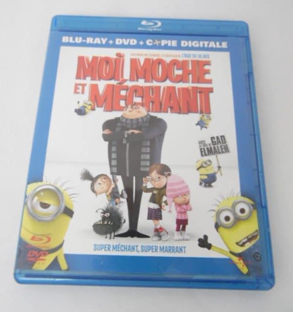 Blu-Ray - Moi moche et méchant - Combo Blu-ray + DVD + Copie digitale