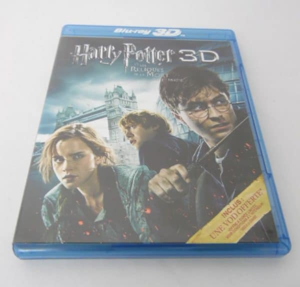 DVD Blu-Ray - 3D - Harry Potter - Et les reliques de la mort - 1ère partie