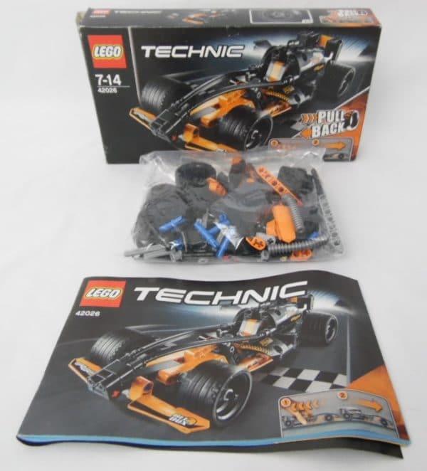 LEGO TECHNIC N° 42026 - Le Bolide