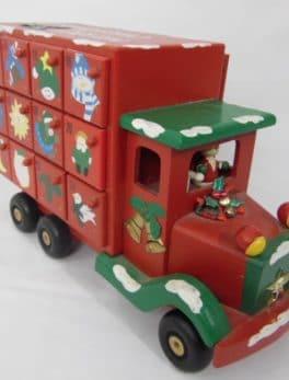 Calendrier de l'avant en forme de camion
