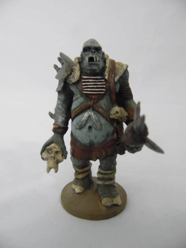 3 Figurines ( Ogre/ Troll ) en plomb