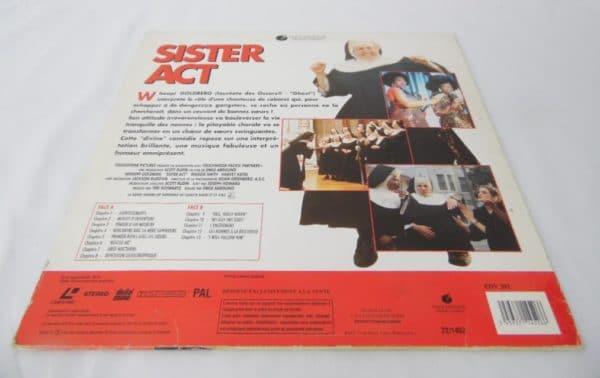 Laserdisc - Sister Act