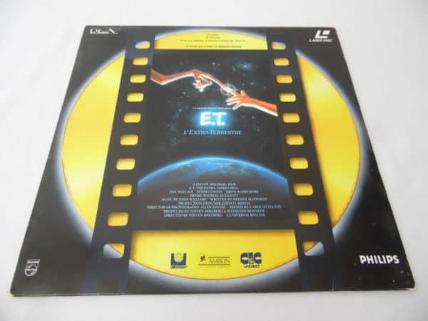 Laserdisc - E.T. L'extra-terrestre
