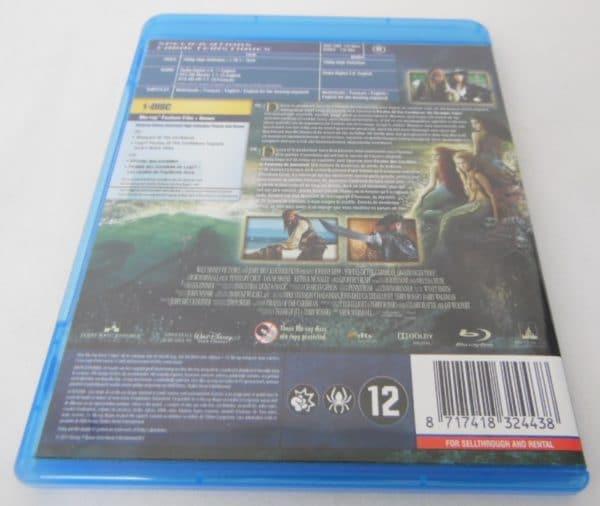Blu-Ray - Pirates des Caraïbes : La Fontaine de jouvence