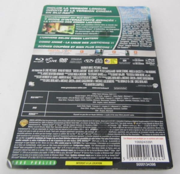 Blu-Ray - Green Lantern - Ultimate édition