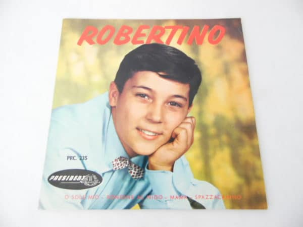 Disque vinyle - 45 T - Robertino