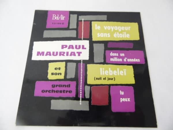 Disque vinyle - 45 T - Paul Mauriat