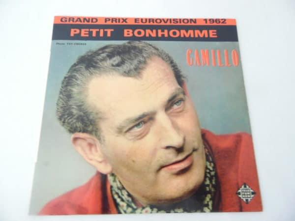 Disque vinyle - 45 T - Camillo - Grand prix eurovision 1962