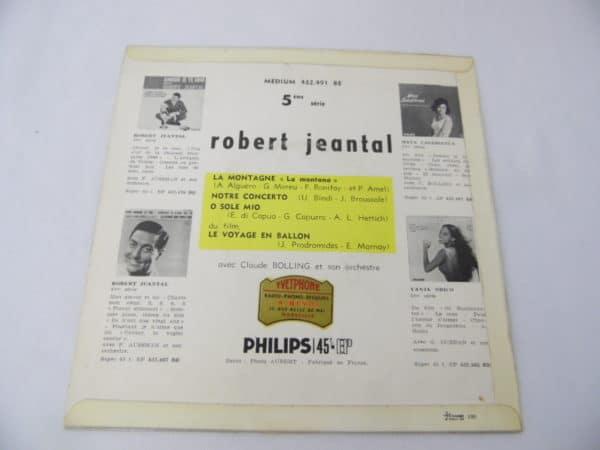 Disque vinyle - 45 T - Robert Jeantal