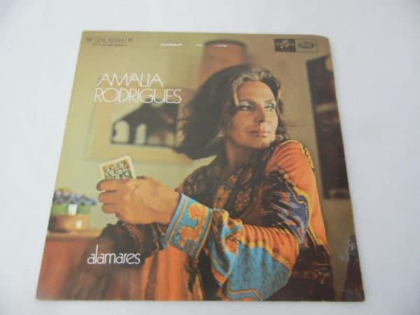 Disque vinyle - 45 T - Amalia Rodrigues - Alamares - 1972