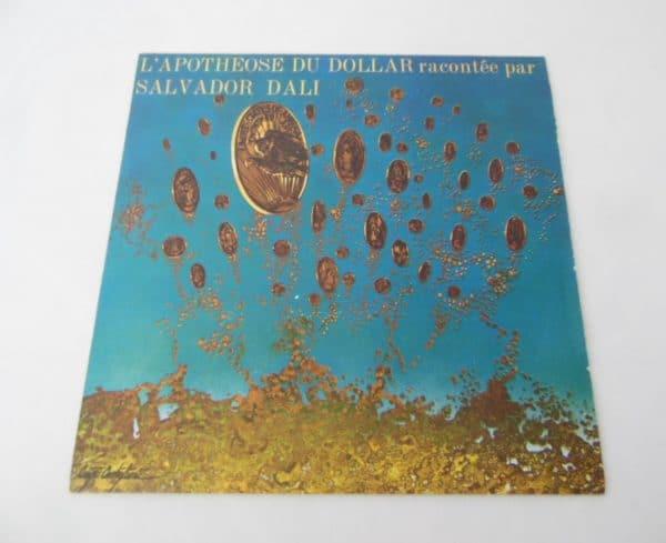 Disque vinyle - 45 T - L'Apothéose du Dollar - Racontée par Salvador Dali