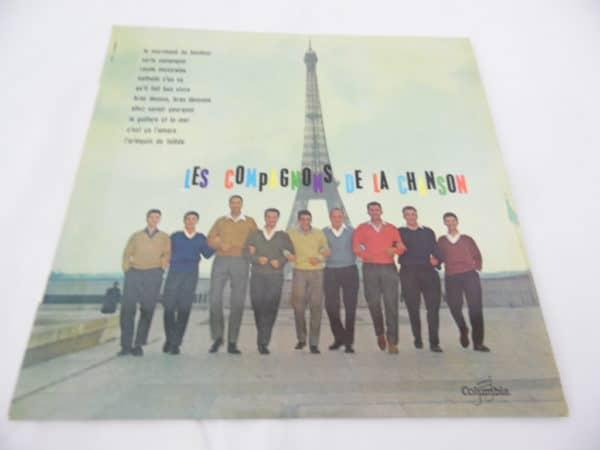 Disque vinyle - 33 T - Les compagnons de la chanson - Les plus grands succès