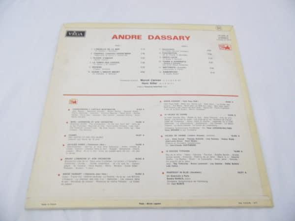 Disque vinyle - 33 T - André Dassary